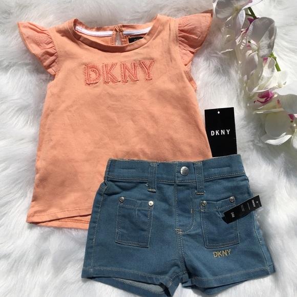 DKNY Girls Shorts Set